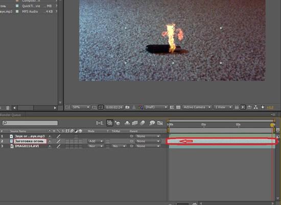 Создание эффекта огня на видео adobe after